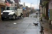 Atiende Protección Civil contingencias por tromba en Los Reyes