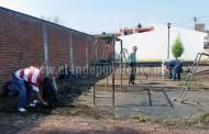 Rehabilitan parque de La Providencia