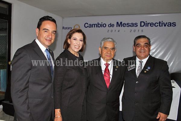 Reconoce Club Rotario Zamora Industrial respaldo de la Alcaldesa, Rosa Hilda Abascal