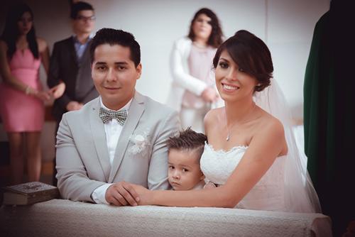 Raúl y Sandra enlazan sus vidas