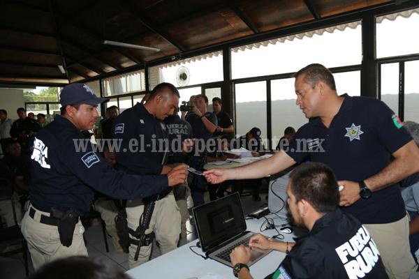 Arranca SSP Michoacán proceso de depuración y reordenamiento de la Unidad de Fuerza Rural