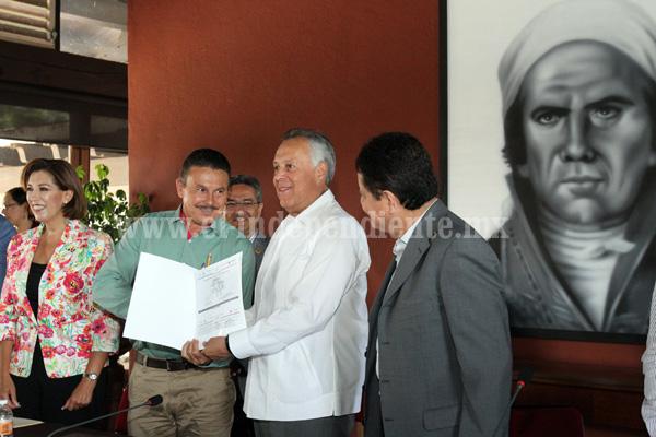 Entrega SEDATU 53 millones de pesos para reducir la pobreza urbana en Michoacán