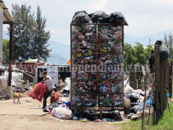 Revisarán chatarreras y recicladoras de plástico para evitar brotes de dengue