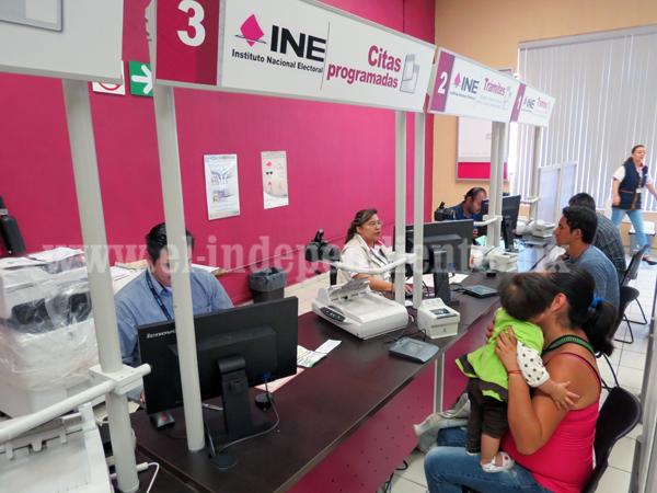 Reposición de credenciales del INE no requerirá presentación de documentos