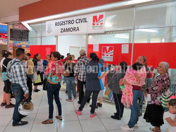 Ciudadanos repudian centralización de pagos del Registro Civil en Administración de Rentas