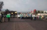 Toman transportistas accesos a Sahuayo