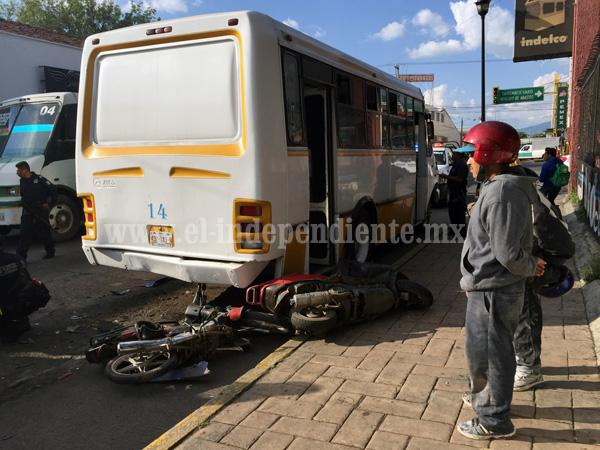 Accidente vial deja tres heridos en Zamora