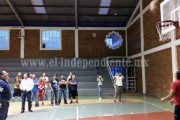 Inauguran liga municipal de básquetbol