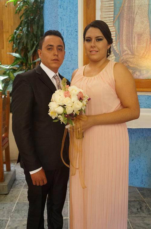 Alejandra y Víctor Manuel