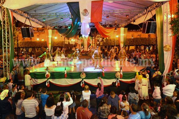 Ballet folclórico de Michoacán en Sahuayo
