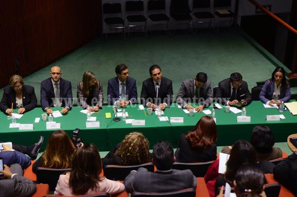 Suman esfuerzos por Michoacán diputados y Silvano