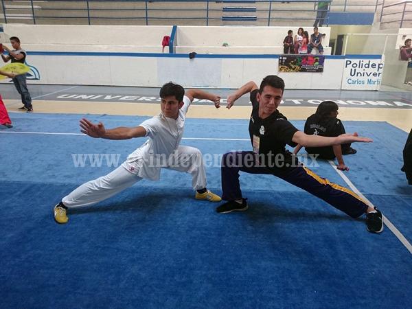 VII Campeonato de Artes Marciales Chinas 2015