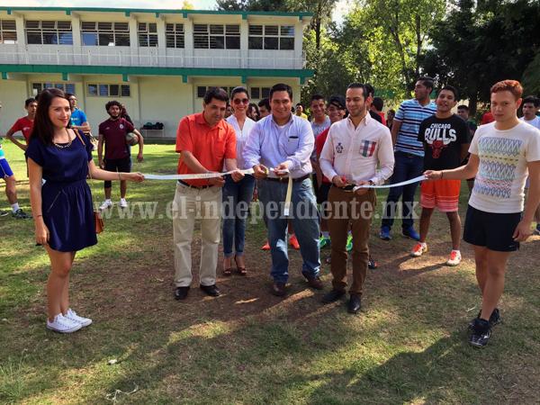 Inauguró CESZAM Torneo de Futbol y Voleibol