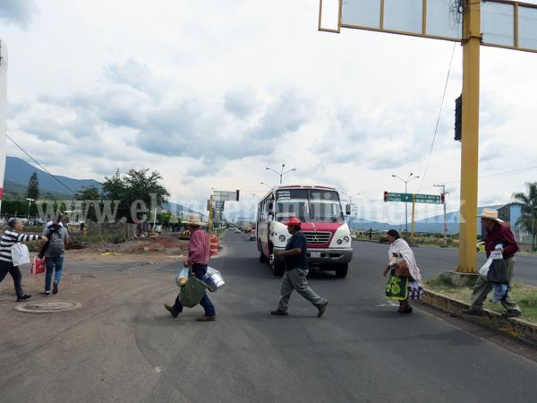 Siguen las quejas por falta de seguridad en la Central Camionera