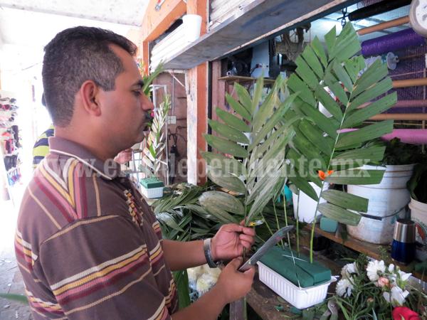 Incremento de precios lleva a crisis a  floristas