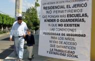 Vecinos del Jericó se oponen a instalación de más escuelas en fraccionamiento