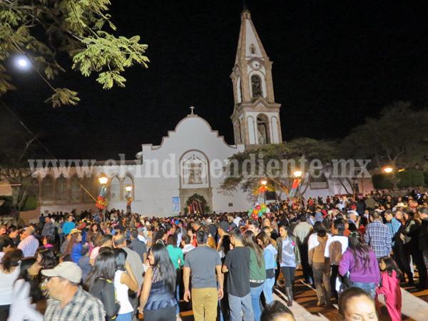 Más de 10 mil feligreses acudieron a celebración de Nuestra Señora de la Esperanza