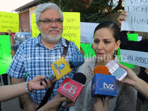 Vecinos de colonia Resurrección se oponen a derrumbe de 400 árboles