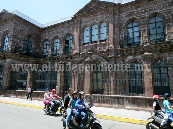 Palacio Federal se encuentra en abandono y sin proyectos culturales consumados