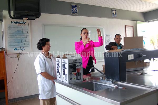Más de  700 mil pesos invirtieron  en el CONALEP  Zamora