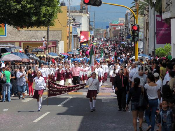 Regresará desfile del 16 de septiembre a recorrido original, no pasará por la calle Madero