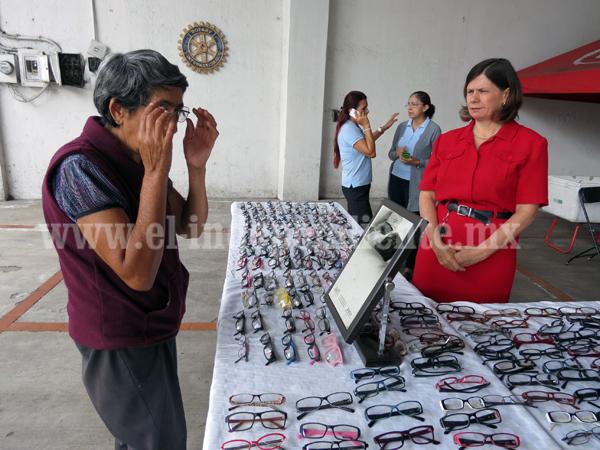 Club Rotario Erandi anunció su 4ª campaña de lentes