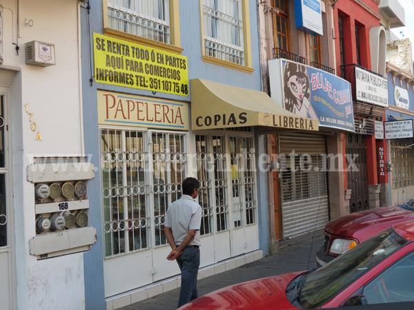 Impuestos asfixian a 200 negocios en pequeño, latente riesgo de cerrar