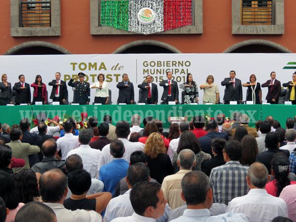 Con orden, progreso y desarrollo, lograremos construir el Zamora que queremos