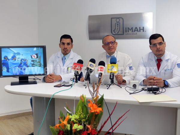 IMAH realizó el primer procedimiento Urolift  en América Latina