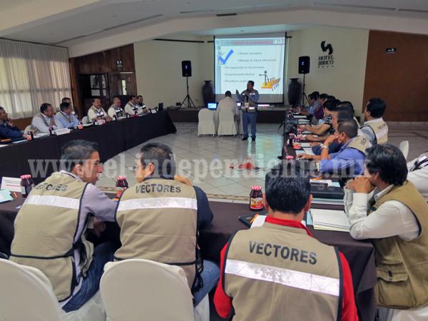 Intensifican medidas contra dengue y chikungunya en el estado