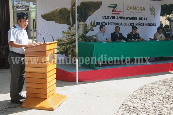 Celebraron el 39 aniversario del Pentathlón Deportivo Militarizado Universitario de América A.C. de Zamora