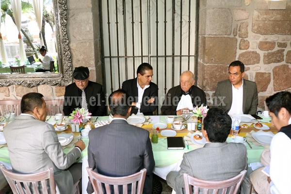 Se Reunió el Gobernador Electo con el Cardenal