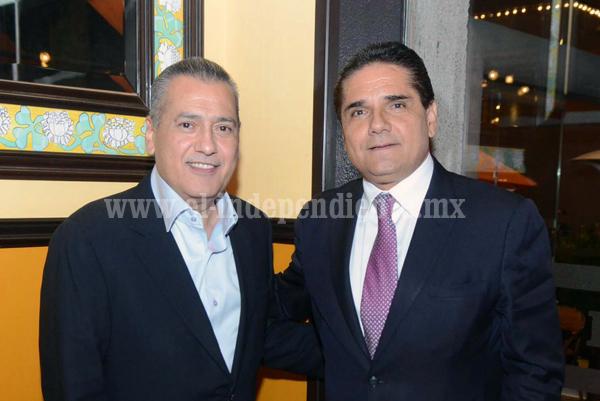Se reúne Silvano Aureoles con el presidente nacional del PRI