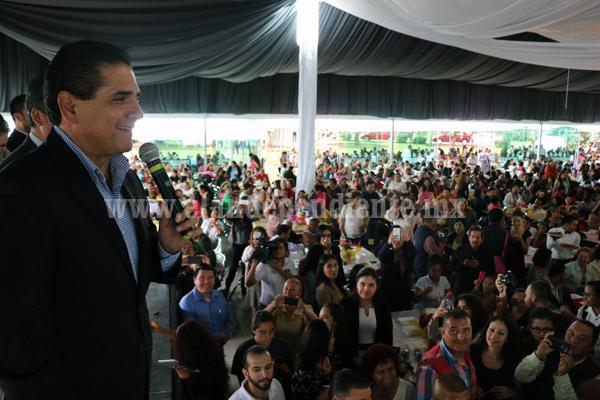 Se debe trabajar para alcanzar la igualdad plena en los poderes del estado: Silvano Aureoles