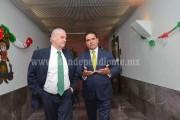 Dialogan Embajador de México en EU y Silvano Aureoles