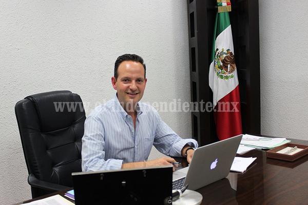 Síndico Municipal, Jorge Bribiesca Sahagún, atendió a miembros de la CNOP