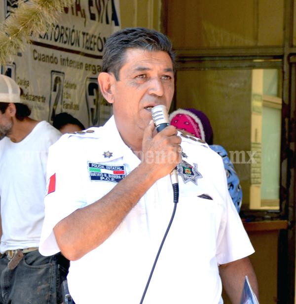Inició campaña de prevención sobre Seguridad en Tangancícuaro