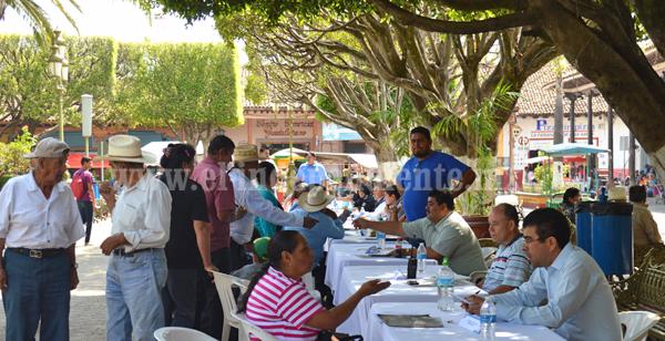"""Excelente participación hubo en el primer """"Miércoles Ciudadano"""" en Tangancícuaro"""