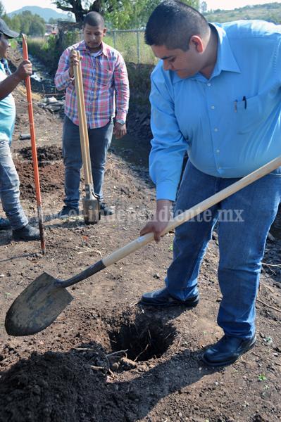 Presidente Municipal de Tangancícuaro tomó medidas de reforestación