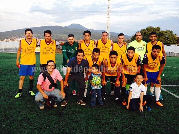 Perdió el liderato el equipo de Cachorritos FC