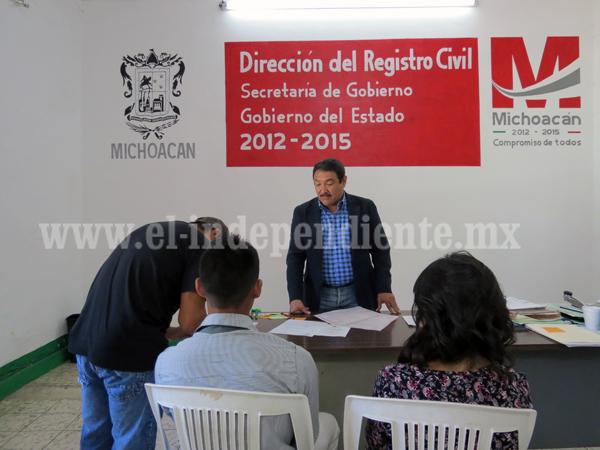 Infartos e hipertensión predominan en causas de muerte en Jacona: Registro Civil