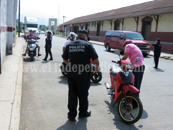 Arrancan operativos para detección y recuperación de motocicletas robadas