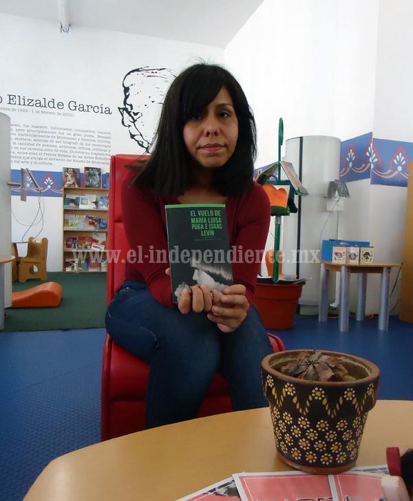 """Hoy presentan el libro """"El vuelo"""" de María Luisa Puga e Isaac Levin"""