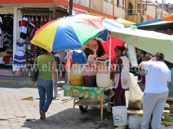 Comenzó ordenamiento de ambulantes en mercados municipales