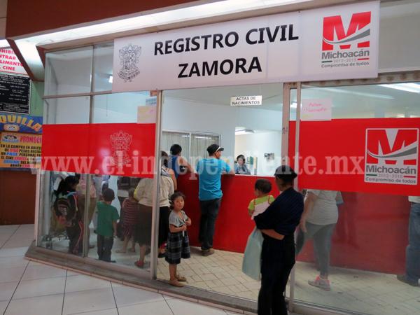 Regresa caja de pago a Registro Civil para acelerar trámites