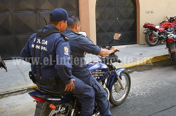 Insuficientes los elementos policiacos en Jacona: Alcalde