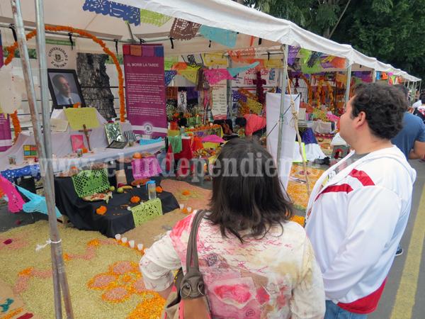 Esperan 15 mil visitantes para Día de Muertos en la Calzada