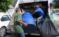 Mantendrán orden en rutas de recolección de basura
