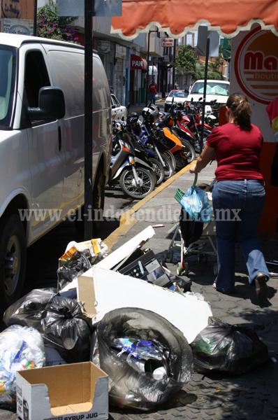 Aumentó 20 por ciento generación de basura en la zona urbana
