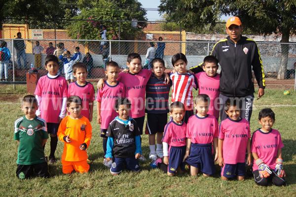 La Popular goleó a sus rivales del Deportivo Zamora por 8-2
